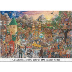 Puzzle 3000 pièces - Beatles Magical Mystery Tour