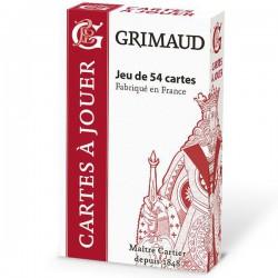 Cartes à jouer Grimaud Origine