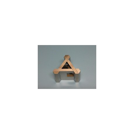 Casse-tête H Metal triangle