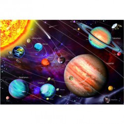 Puzzle 1000 pièces - Système solaire