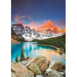 Puzzle 1000 pièces - Lac Moraine, Banff National Park, Canada