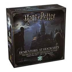Puzzle 1000 pièces Harry Potter - Détraqueurs à Poudlard - Premium