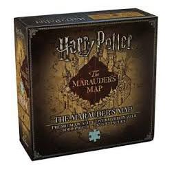 Puzzle 1000 pièces Harry Potter - Carte du Maraudeur - Premium