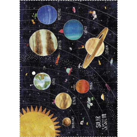 Puzzle 200 pièces - Discover the Planets