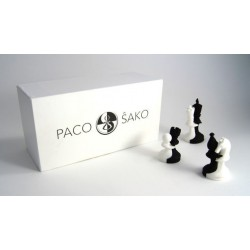 Pièces d'Echecs de la Paix - Paco Sako