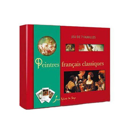 Jeu de 7 familles - Peintres français classiques