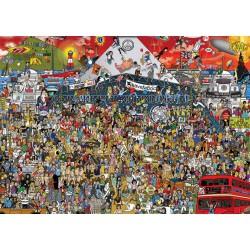Puzzle 2000 pièces - British Music History