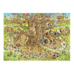 Puzzle 1000 pièces - Monkey Habitat