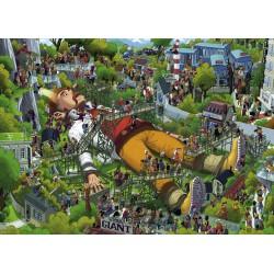 Puzzle 1000 pièces - Gulliver
