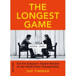 Timman - The Longest Game (hard cover)