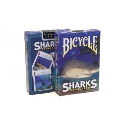 Cartes à jouer Bicycle Sharks