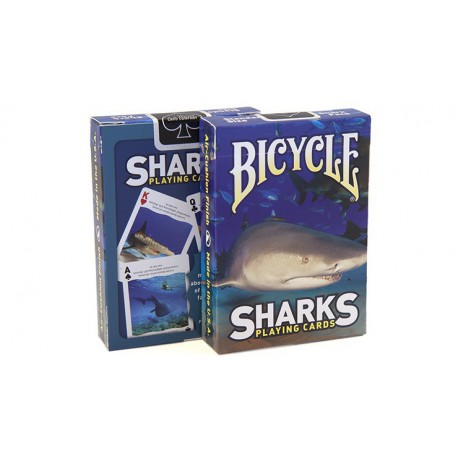 Cartes à jouer Bicycle Sharks
