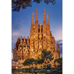 Puzzle 1000 pièces - Sagrada familia
