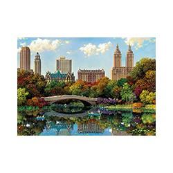 Puzzle 8000 pièces - Central Park Bow Bridge, Alexander Chen