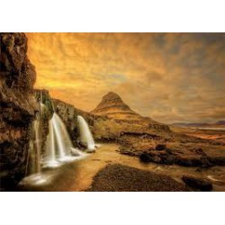 Puzzle 1000 pièces - Chute Kurkjufellsfoss, Islande
