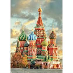 Puzzle 1000 pièces - Cathédrale de Saint Basile, Moscou