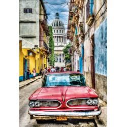 Puzzle 1000 pièces - Voiture de la Havane