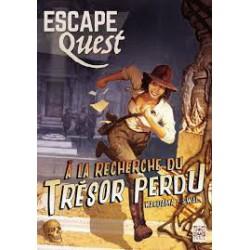 Escape Quest vol.1 (Livre) A la recherche du trésor perdu