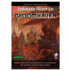 Gloomhaven : Removable Sticker (autocollants)