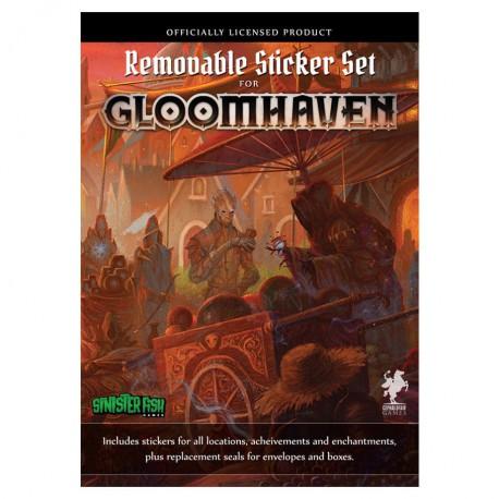 Gloomhaven : Removable Sticker (autocollants)