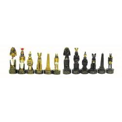 Pièces d'échecs Egyptiens - Taille 3.5