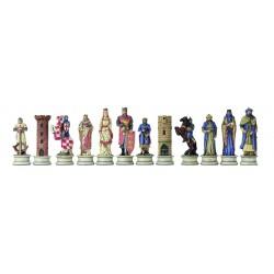 Pièces d'échecs Croisés-Sarrazins II - Taille 3.5