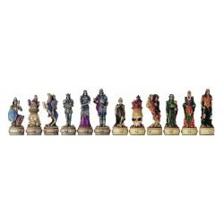 Pièces d'échecs Squelette Médiéval