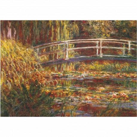 Puzzle 1000 pièces - Pont japonais, Monet