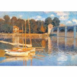 Puzzle 1000 pièces - Pont d'Argenteuil, Monet