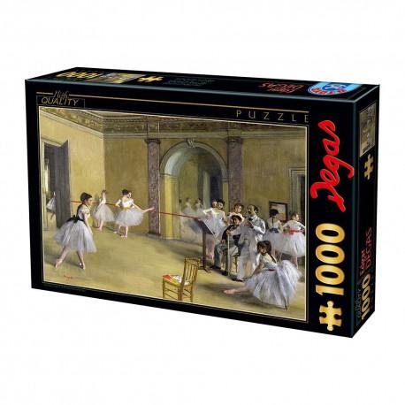 Puzzle 1000 pièces - Foyer de la danse à l'Opéra de la rue Le Peletier - Degas
