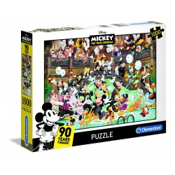 Puzzle 1000 pièces - Mickey 90ème anniversaire