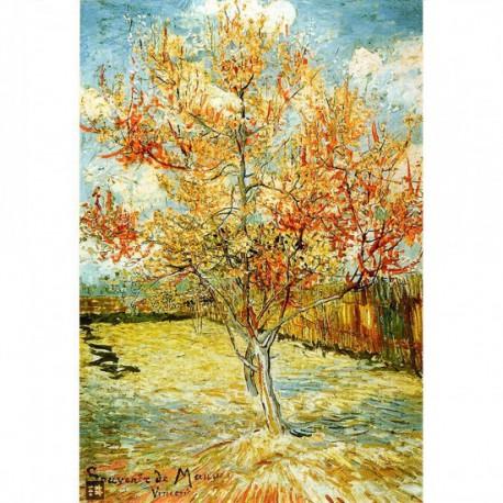 Puzzle 1000 pièces - Arbre Pêcher en Fleur, Van Gogh