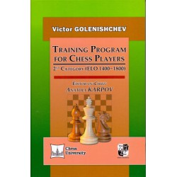 Golenishchev - Training Program for Chess Players: 2nd Category (ELO 1400-1800)