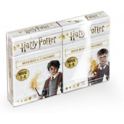 Cartes à jouer Harry Potter Movie 54 c. - Duo Pack