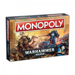 Monopoly Warhammer 40 000 (Anglais)