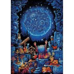Puzzle 1000 pièces - L'astrologue (Neon)