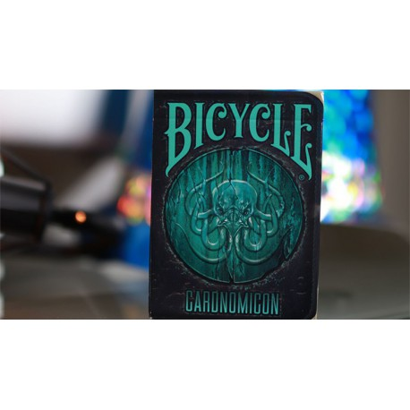 Cartes Bicycle Cthulhu Cardnomicon