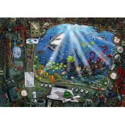 Puzzle 759 pièces - Escape: Dans le sous-marin