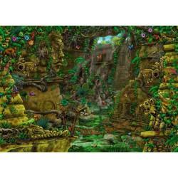 Puzzle 759 pièces - Escape: Temple Ankor Wat