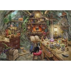 Puzzle 759 pièces - Escape: Cuisine de la sorcière