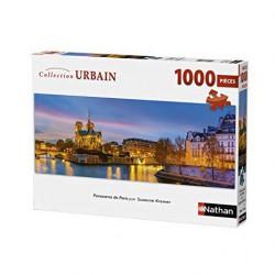 Puzzle 1000 pièces - Panorama de Paris