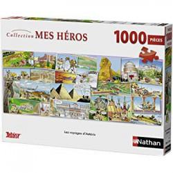 Puzzle 1000 pièces - Les voyages d'Astérix