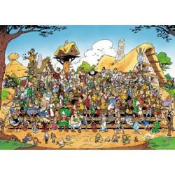 Puzzle 1000 pièces - Astérix: Photo de famille
