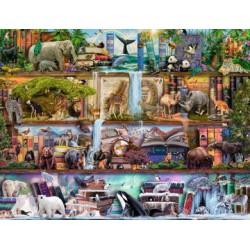 Puzzle 2000 pièces - Magnifique Monde Animal
