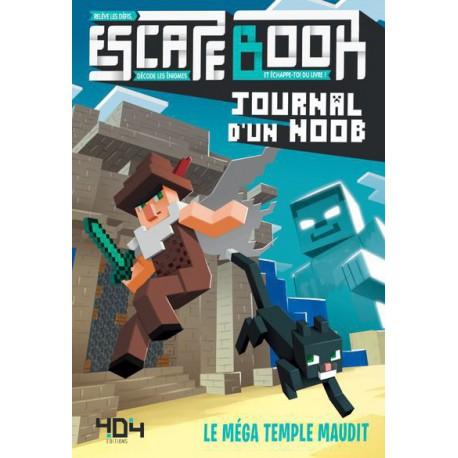 Escape Book : Journal d'un Noob - Le Méga Temple Maudit