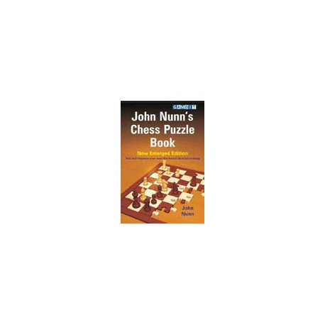 NUNN - John Nunn's Chess Puzzle Book - New Enlarged Edition