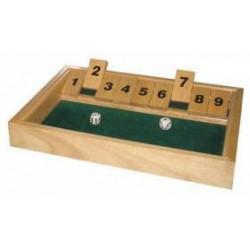 Shut the Box 9 (klappenspiel)