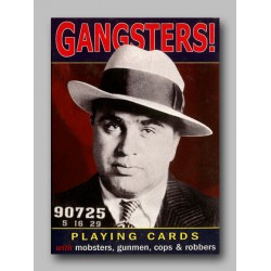 Cartes à jouer Gangsters