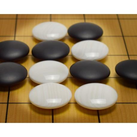 Pierres de Go Coquillage Jitsuyo - 9.5mm