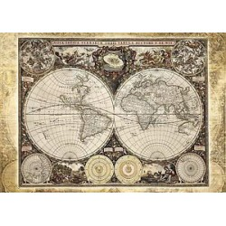 Puzzle 2000 pièces - Mappemonde Historique
